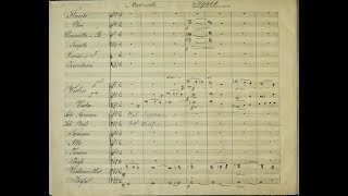 anton bruckner mass no 3 in f minor wab 28 1868 manuscript score