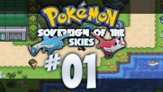 Pokemon Hack: Pokemon Sovereign of the Skies German Hack Part 1: Golden Sun