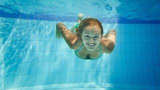 Техника правильного ныряния под воду