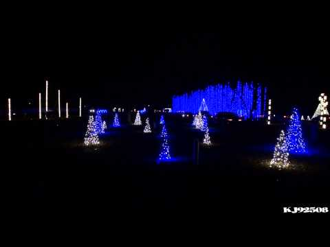 Christmas Light Show 2013 - Wish Liszt TSO (Nashville, TN)