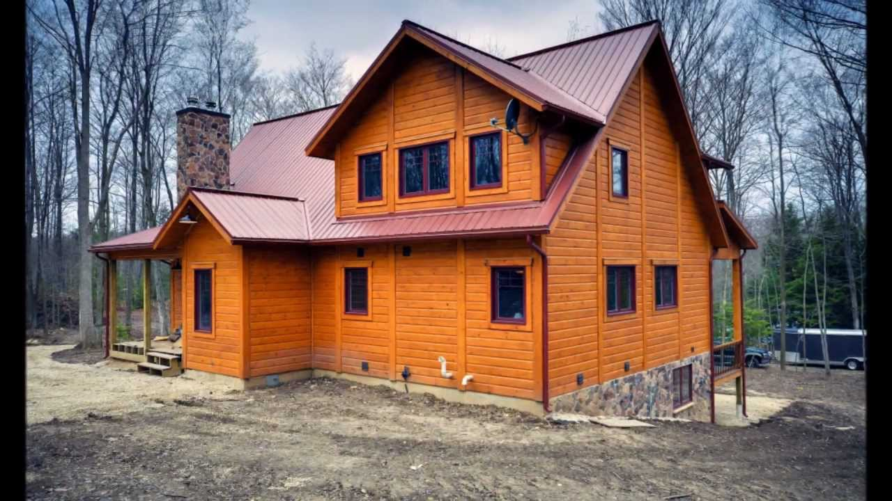 Timber Block Homes Ontario Log Home Photographed By