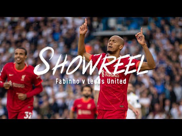 Showreel: Fabinho dominates the midfield against Leeds United