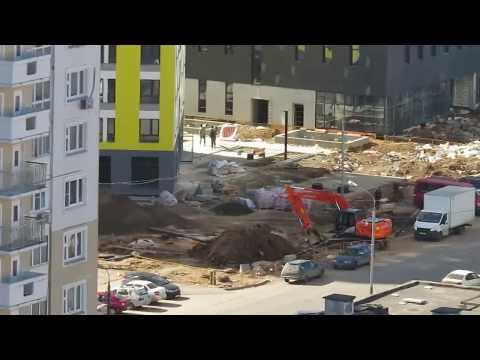 Подготовка к заселению. Совхозной ул. Химки, Левый берег.