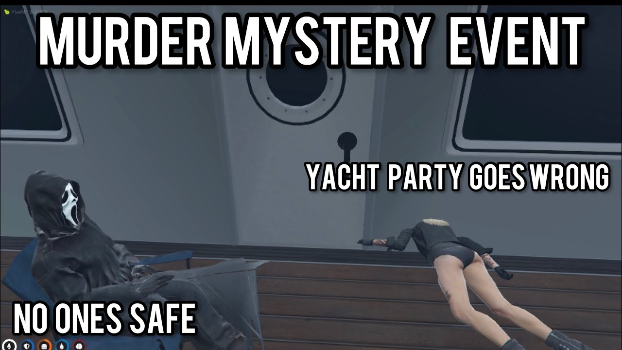 Download Murder Mystery Halloween Yacht Event Ghost Face Scream (FULL VID) l GTA 5 RP Nopixel 3.0