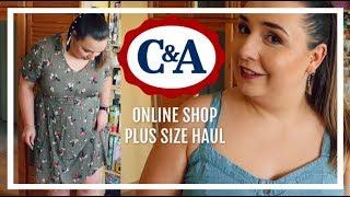 Testuję sklep online C&A! || PLUS SIZE HAUL MIERZYMY