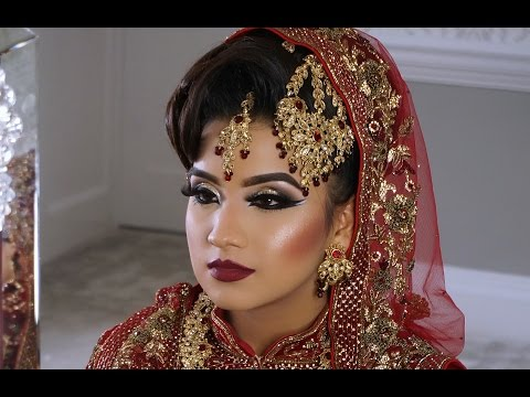 Photoshoot | Asian Bridal Makeup | Wedding And Walima Look |