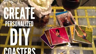 How To Create Personalized Diy Coasters