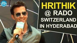 Exclusive : Hrithik Roshan At Rado Switzerland In Hyderabad || Rado Launch Lightness