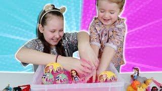 Super Slushy Gelli Baff Toy Surprise Challenge!! Ruby Rube and Bonnie