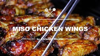 Miso Chicken Wings - Real & Natural UMAMI Flavour - COOK WITH ME.AT