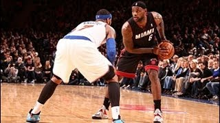 Duel: Carmelo Anthony vs LeBron James