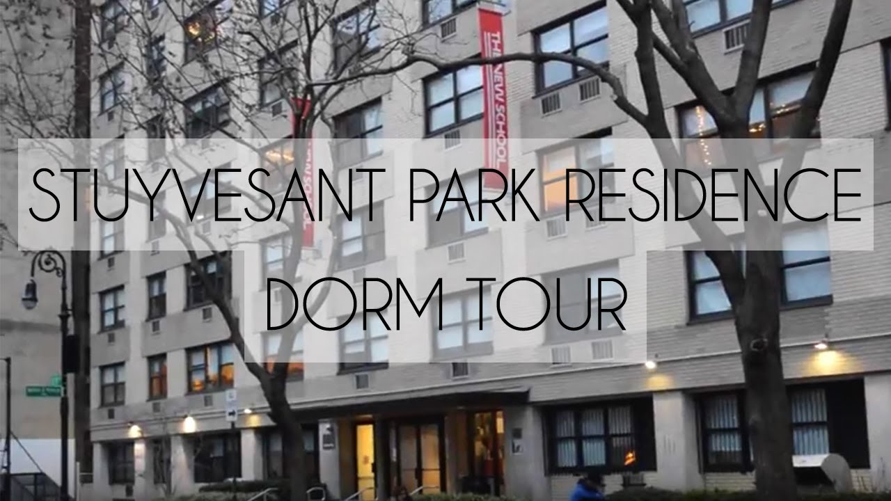 stuyvesant park dorm tour | parsons school of design/the new