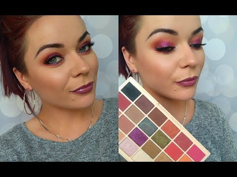 LETNIE SMOKEY EYE 💋🍹step by step SOPHX MAKEUP REVOLUTION