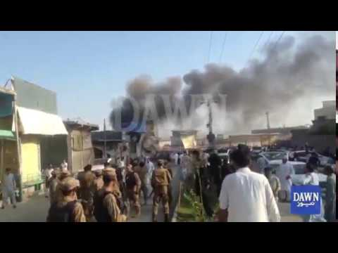 At least 25 dead, 100 injured in twin explosions in Parachinar