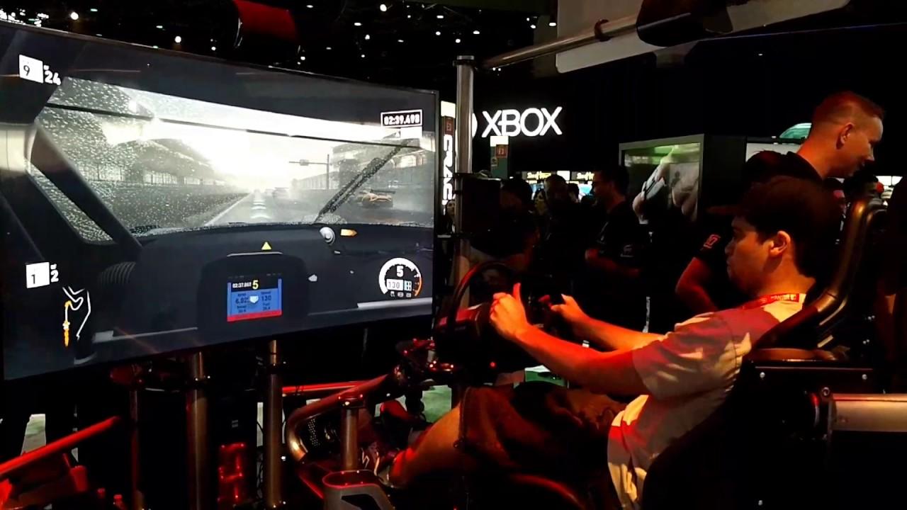 Ordinaire Forza 7 Simulation Chair @E3