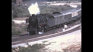Dampfplandienst am 28.5.1975 an der Emslandstrecke
