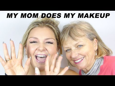 MY MOM DOES MY MAKEUP / MAKEUP CHALLENGE / MUNGERMAKEUP