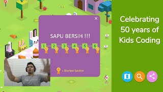 Google Doodles Game Bocah P01 | Sapu Bersih Semua Medali Shortest Solution !!!