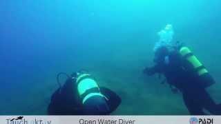 Murner See mit OWD Tauchschüler