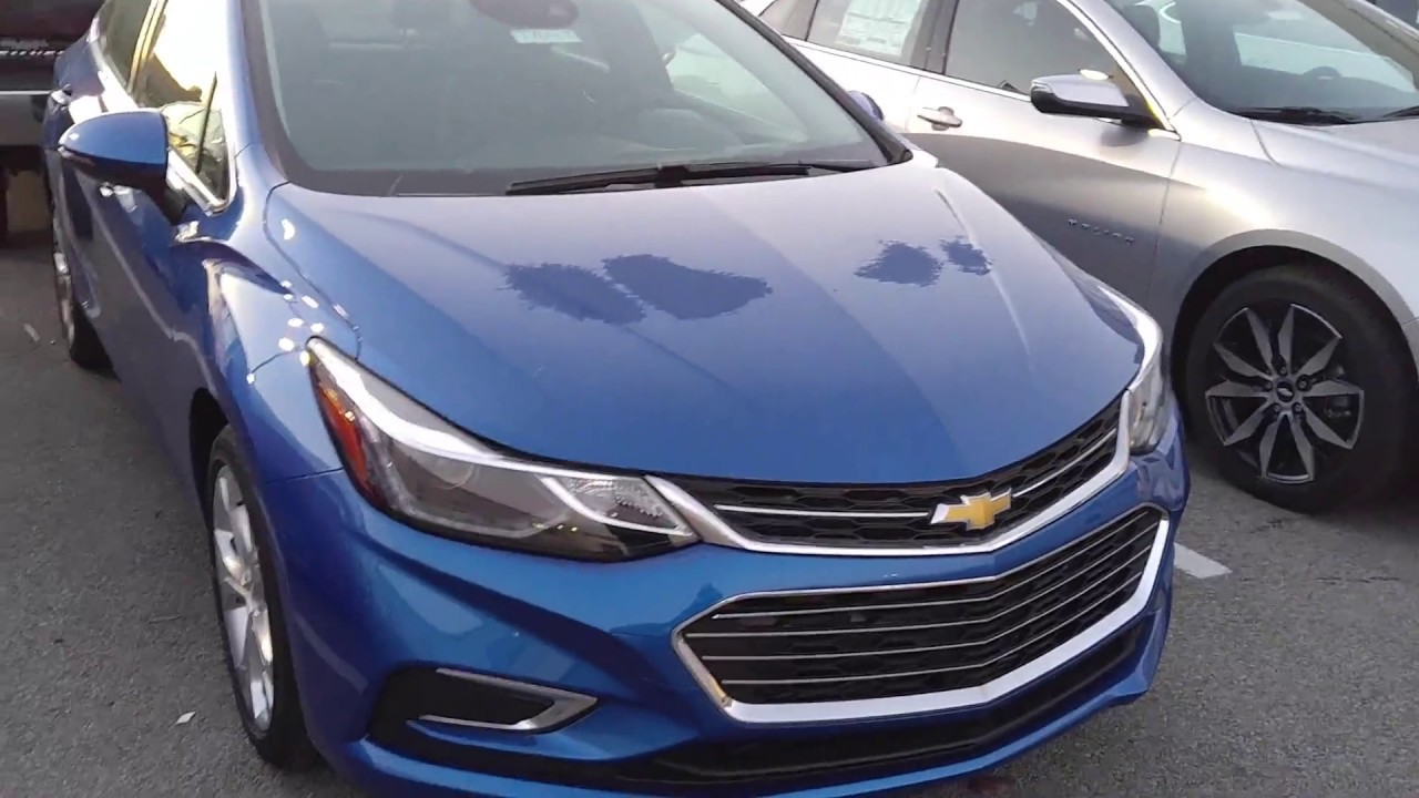 2017 Chevy Cruze Ls Vs Premier