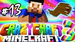 Minecraft Mods: CRAZY CRAFT #13 'GIANT WORM ATTACK!' with Vikkstar