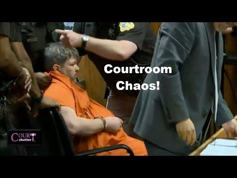 Jason Dalton Kalamazoo Shooting Suspect Dragged Out of Court! 05/20/16