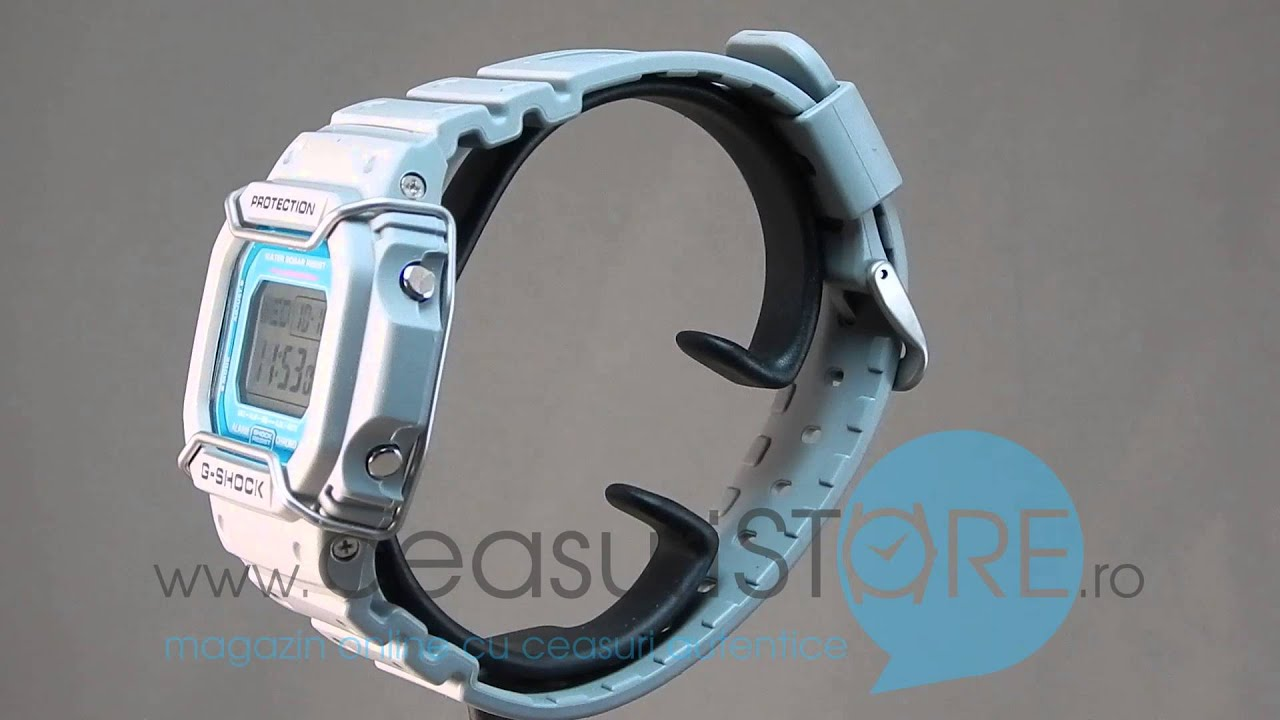 Ceas CASIO G-Shock DW-D5600P-8ER - YouTube e9e3e446e1b52