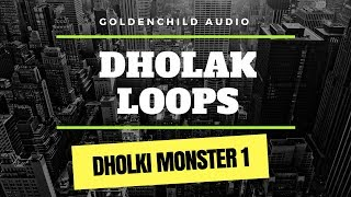 Dholki Monster 1 | Dholak loops (Sample Pack Demo)