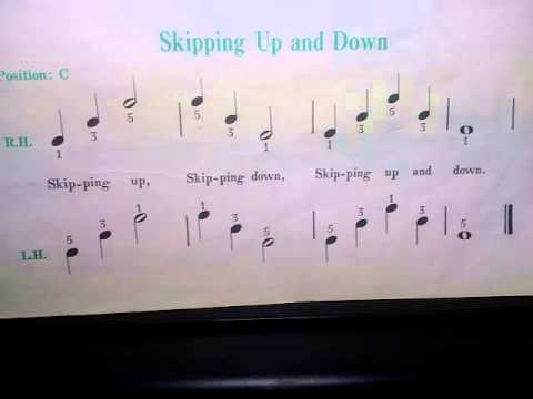 Ebenezer School Skipping Up and Down Notes