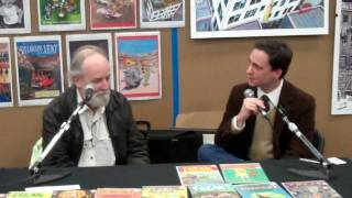 Gilbert Shelton speaks at SXSW on The Fabulous Furry Freak Brothers.