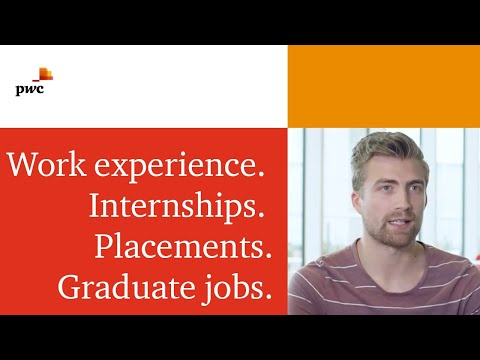 Working as a graduate at PwC in Leeds