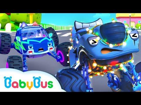 Ai là chiếc xe sáng nhất?? | Kẻ gây rối vs Biệt đội cảnh sát | Nhạc thiếu nhi vui nhộn | BabyBus