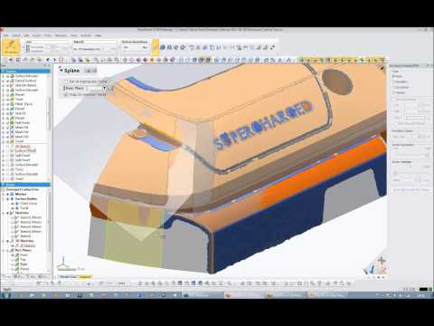 Rapidform Webinar: How To Design Surfaces With Perfect Character Line Flow From 3D Scan Data
