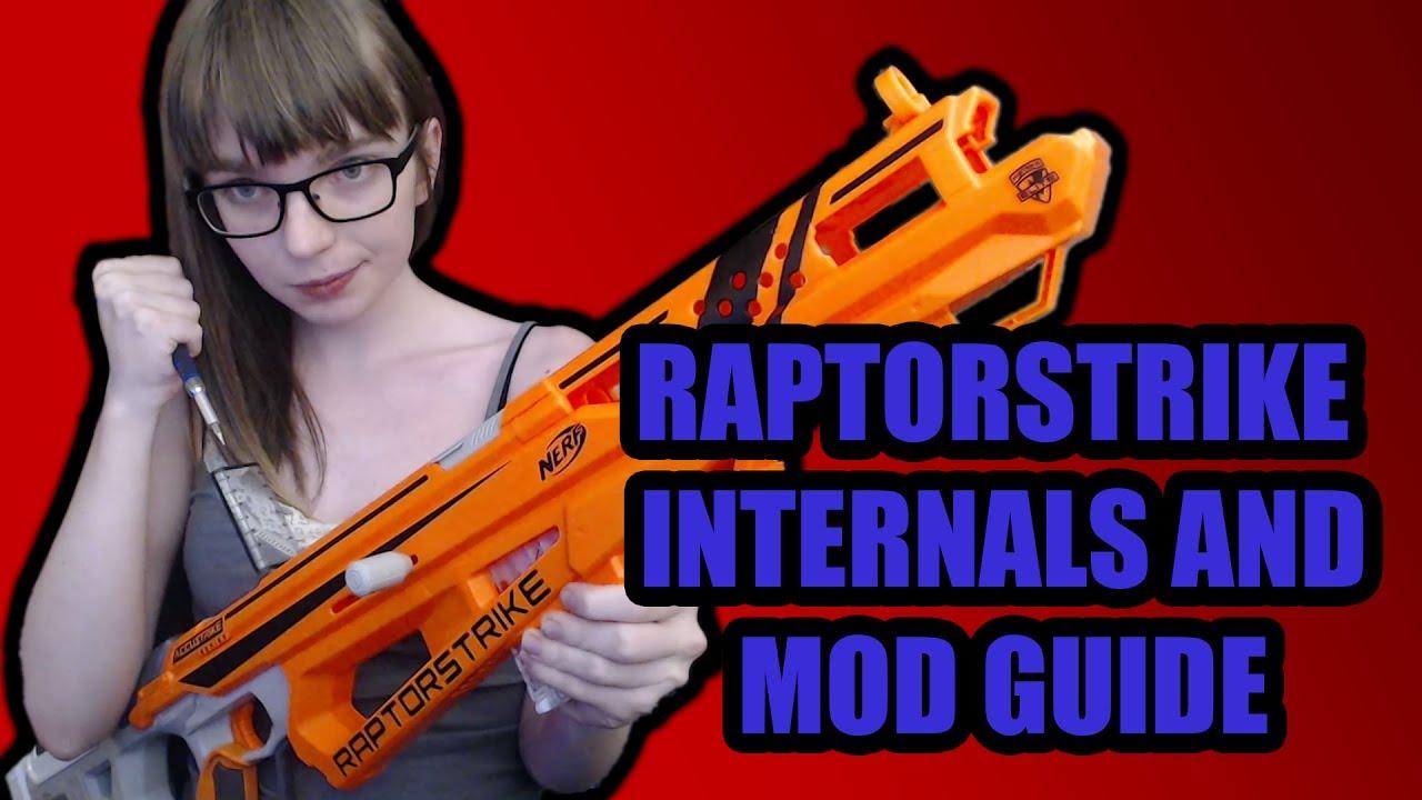 Accustrike Raptorstrike Internals and Mod Guide