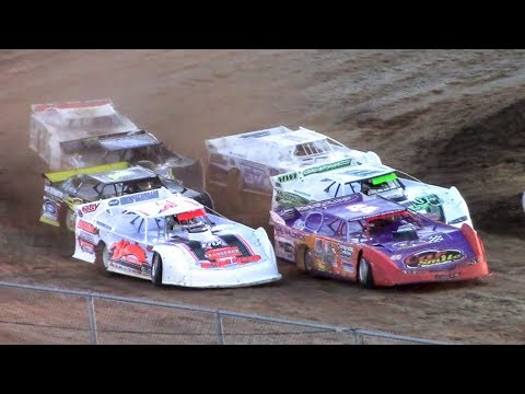 ULMS Super Late Model Heat One | McKean County Raceway | 9-30-17