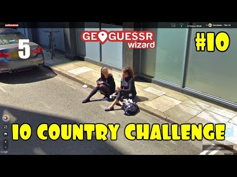 Geoguessr - 10 Country Challenge #10 (A Diverse World) - Curb Squatters