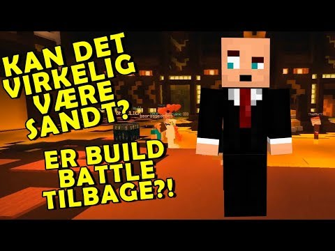 OP PÅ HESTEN IGEN! BUILD BATTLE PÅ HYPIXEL 🔥