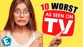 10 Worst As Seen On TV Products