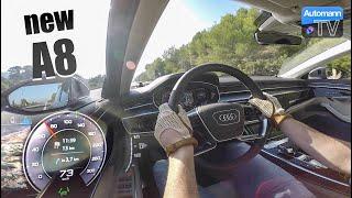 2018 Audi A8 50 TDI - 0-100 km/h acceleration (60FPS)