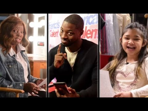 Angelica Hale, Kechi and Preacher Lawson Talk To Their Future Selfs | America's Got Talent 2017 thumbnail