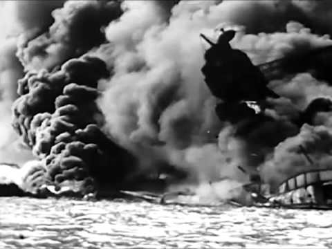Bombing of Pearl Harbor on 7th December 1941 - Attack on Pearl Harbor - CharlieDeanArchives