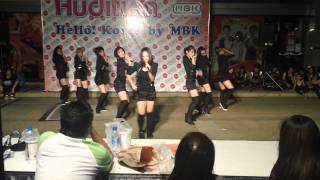 110624 Mini Movement at Hello Korea 2011 (Bang + Shampoo)