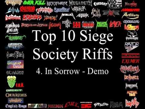 Siege Society Top 10 Riffs