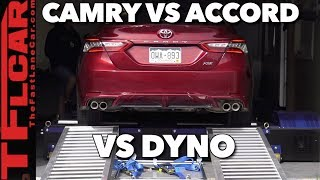 Real World Results! We Dyno the New Camry vs New Accord