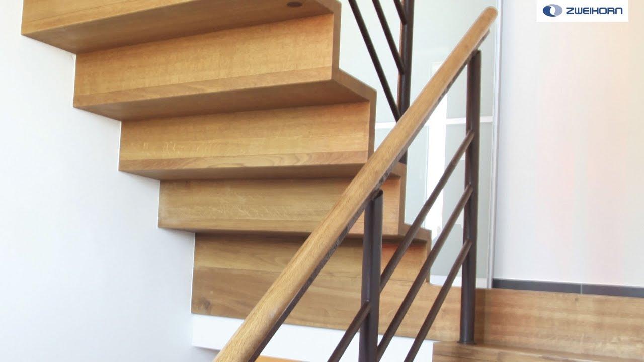 Farbloser 1K-Klarlackaufbau für knarrfreie Treppen - YouTube