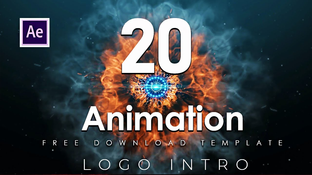 Download 20 Free Amazing Intro Logo After Effects Template