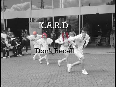 K.A.R.D - Don`t Recall// Otakuzone 2017 //[Dance Cover by AE's YU, Lily, Deli & Einer]