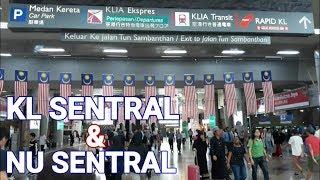KL SENTRAL TERMINAL MODERN ADA MALL MALAYSIA