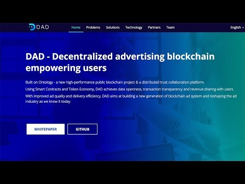 How The Blockchain Can Revolutionize Ads! (DAD Coin Review)