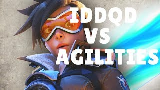 Overwatch IDDQD Gets Rekt By Agilities (Tracer vs Pharah)